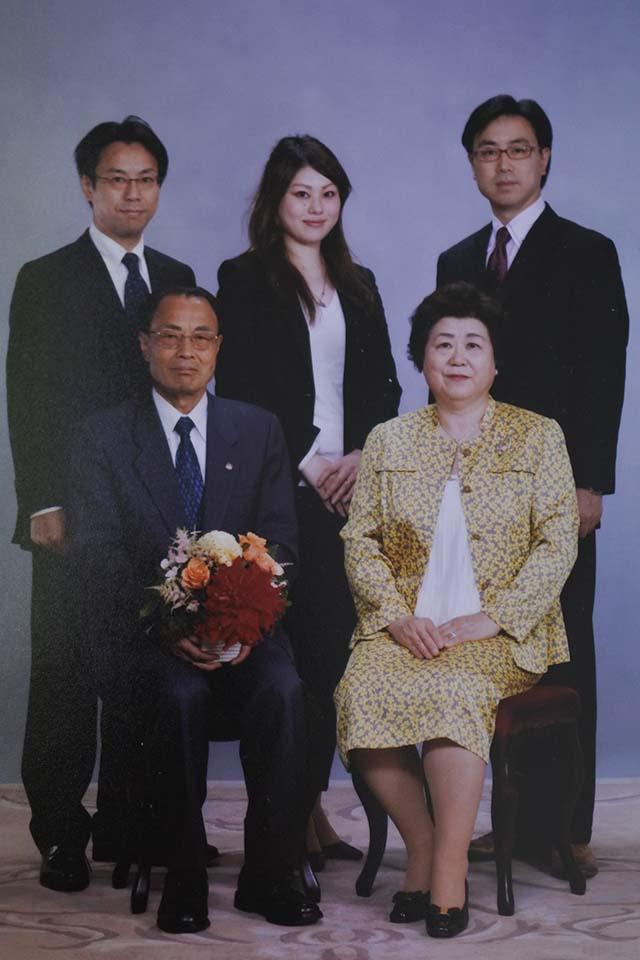 寺田芳雄として生きてきて家族写真