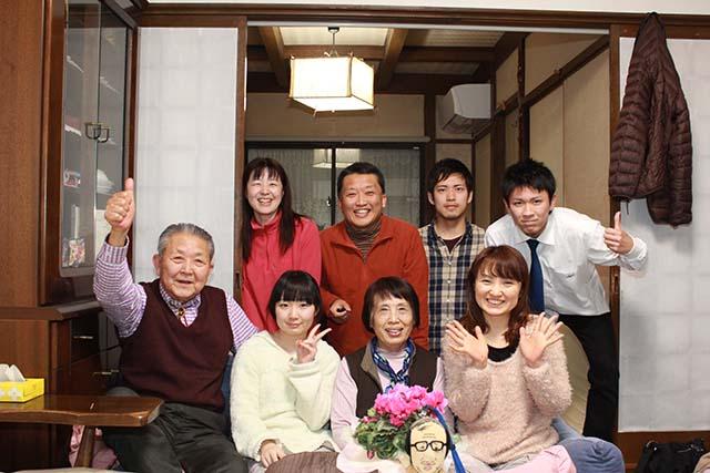 佐々木睦雄として生きてきて家族写真