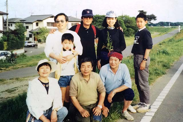 小俣文宣として生きてきて家族写真