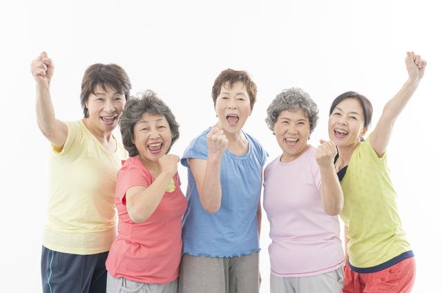 古希、喜寿の女性たち