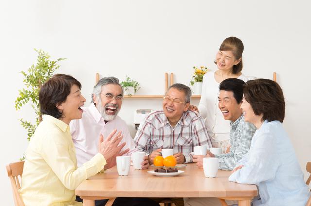 自分史を行った家族の画像